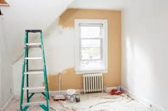 Newport Painters Painting a room