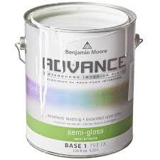 Benjamin Moore Advance Interior Satin Paint