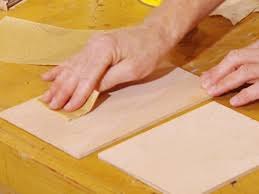 Newport Painters Sanding Cabinets
